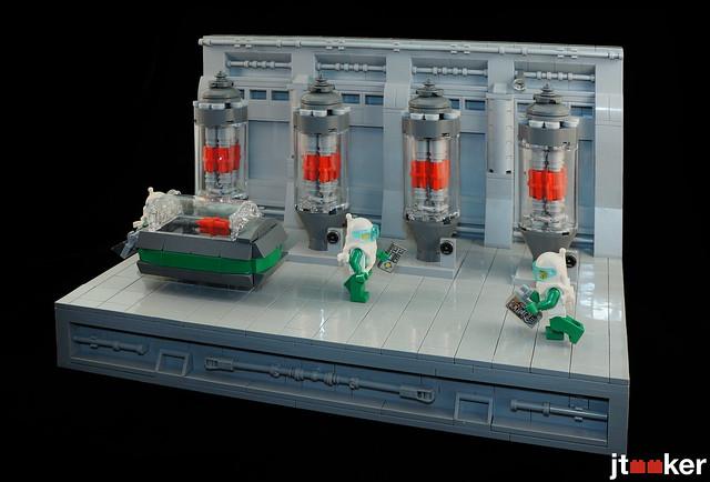 LEGO Cooling Rods MOC