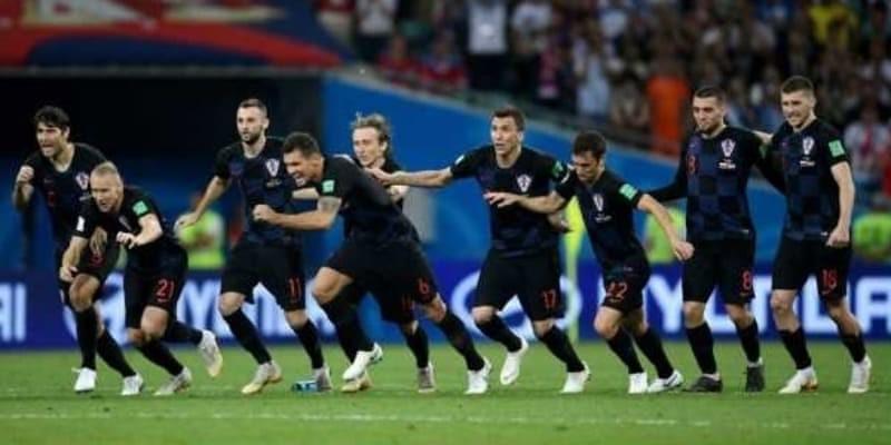 Kroasia Tertawa Melihat Rusia Bersedih Setelah Dikalahkan di Perempat Final Piala Dunia 2018