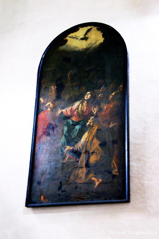 Картина в церкви Св. Марии Речной