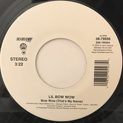 LIL' BOW WOW:BOW WOW(THAT'S MY NAME)(LABEL SIDE-A)
