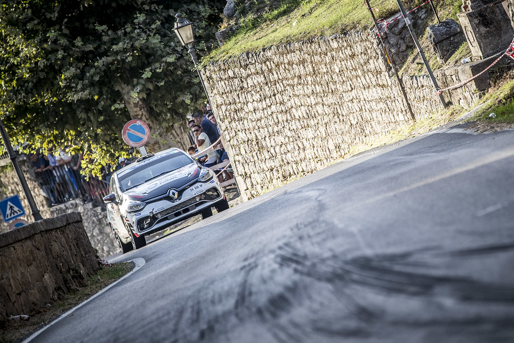 35 BERNARDI Florian (fra),  BELLOTTO Victor (fra), Renault Clio during the 2018 European Rally Championship ERC Rally di Roma Capitale,  from july 20 to 22 , at Fiuggi, Italia - Photo Gregory Lenormand / DPPI