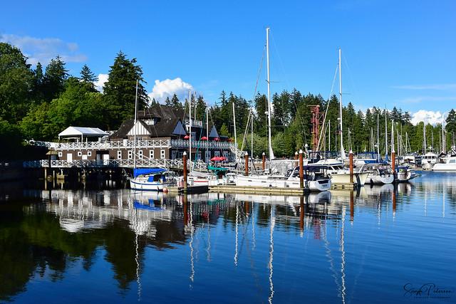 Royal Vancouver Yacht Club/ Coal Harbour