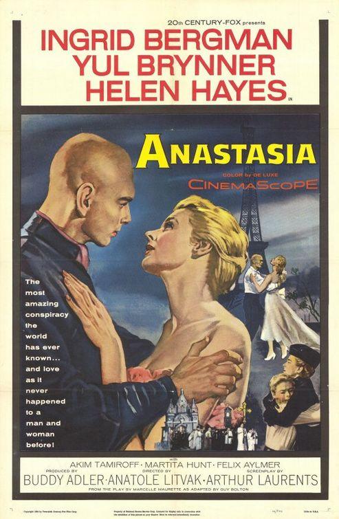 Anastasia - 1956 - Poster 2