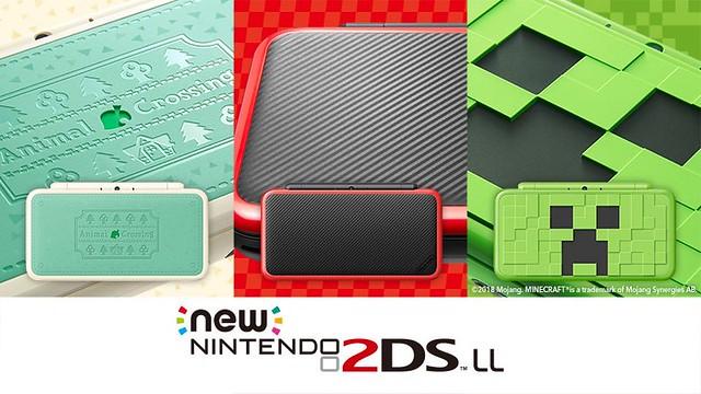 怕!這真的不會爆炸嗎!?任天堂 New Nintendo 2DSLL 主機《Minecraft》、《動物之森》、《瑪利歐賽車》主題特別版新登場!