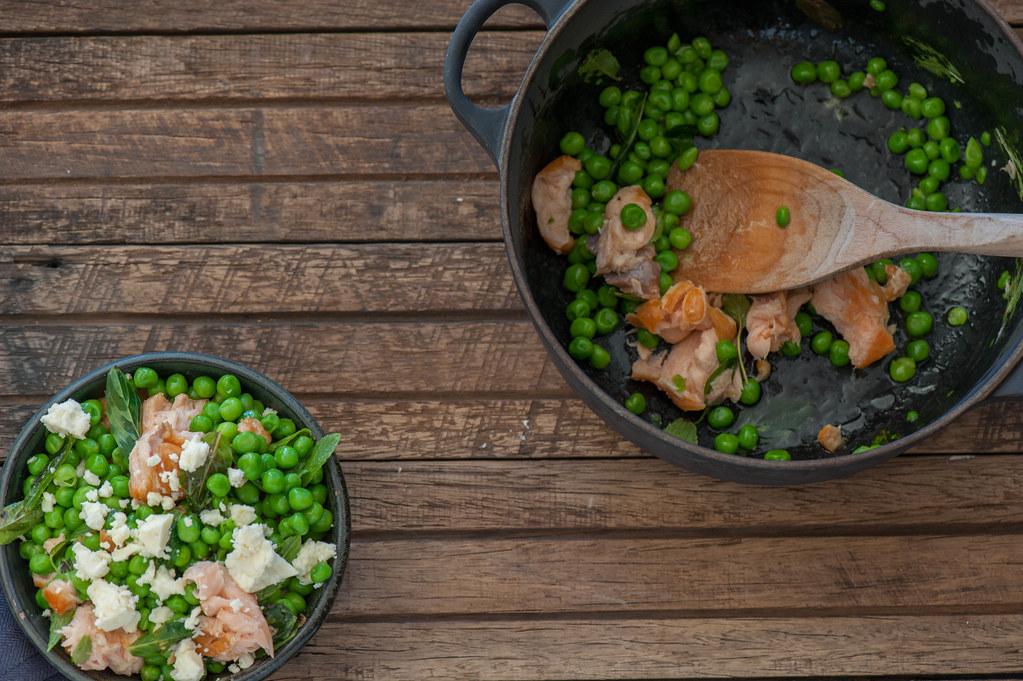 Salmon, Pea & Feta Bowls-2