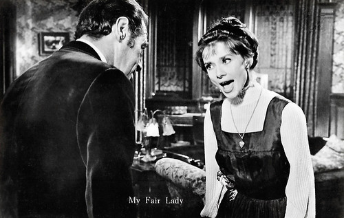 Audrey Hepburn and Rex Harrison in My Fair Lady (1964)