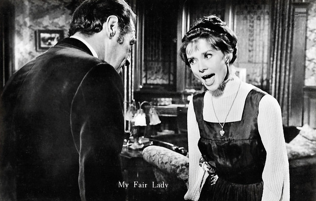 Audrey Hepburn and Rex Harrison in My Fair Lady (1964)