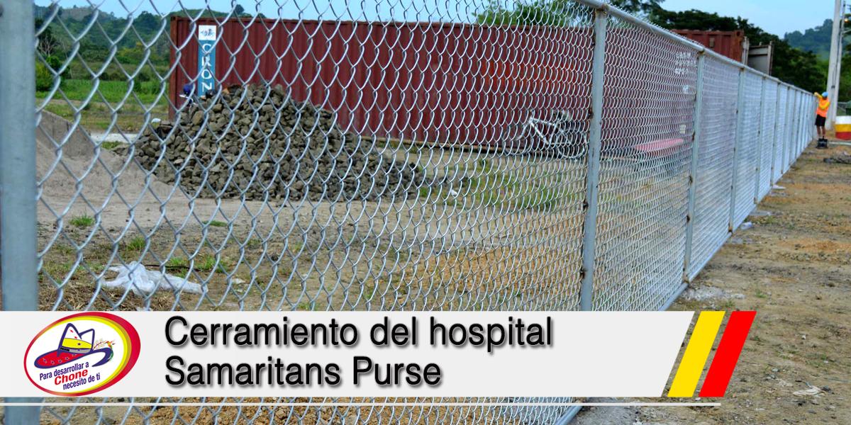 Cerramiento del hospital Samaritans Purse