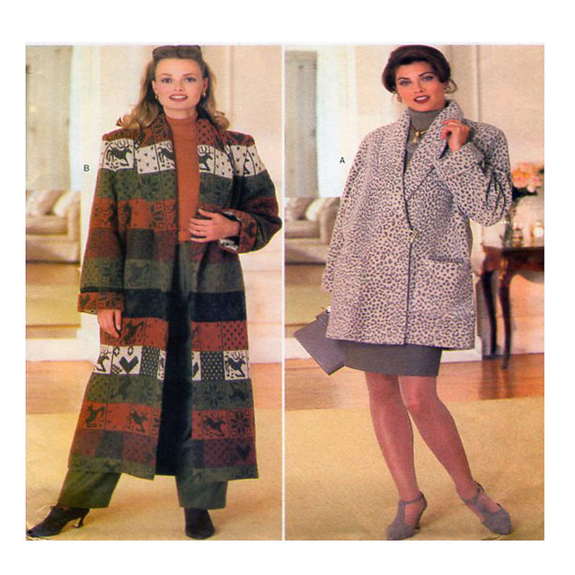 Butterick 4157 coat sewing pattern