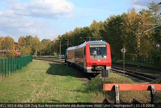 DB Regio 611 502