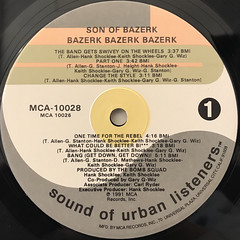 SON OF BAZERK:BAZERK, BAZERK, BAZERK(LABEL SIDE-A)