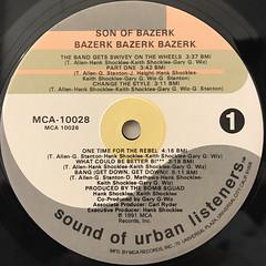 SON OF BAZERK:BAZERK, BAZERK, BAZERK(LABEL SIDE-A)