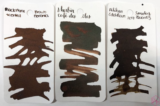 Blackstone Brown Boronia Ink Review @AppelboomLaren 2