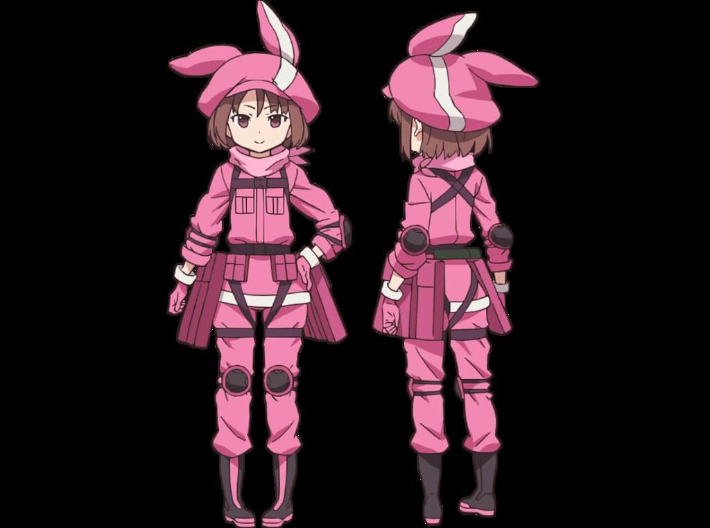 2頭身的「粉紅惡魔」太可愛啦~!黏土人《刀劍神域外傳Gun Gale Online》蓮(ねんどろいど レン)
