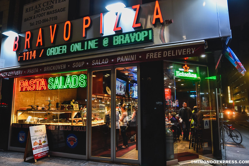 Bravo Pizza, New york