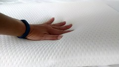 Elite Rest Ultra Slim Sleeper Memory Foam Pillow contour