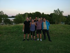 Entraînement en plein air aux étangs de Cergy-Pontoise