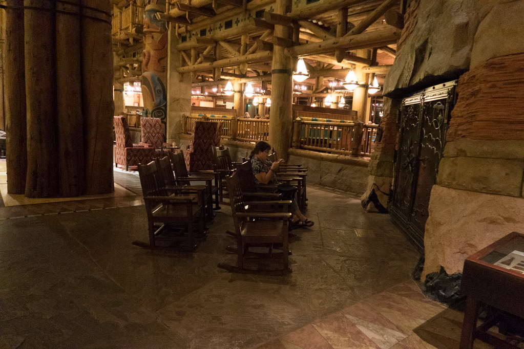 Rocking Chairs at Wilderness Lodge