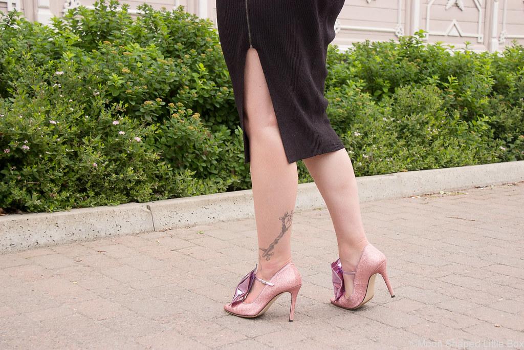 Minna Parikka, Goodie, pink, glitter shoes