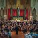 DSCN0042c Sinfonia da Requiem, Benjamin Britten. Ealing Symphony Orchestra, leader Peter Nall, conductor John Gibbons. St Barnabas Church, west London. 14th July 2018