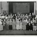 Group of female children posing for camera