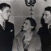 Ronald Reagan with mother Nelle Reagan and father Jack Reagan in California, 1937-38