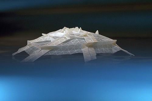 Origami Spaceship (Marjan Smeijsters)