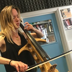 Jo Quail and Clémentine March performing live in session on The deXter Bentley Hello GoodBye Show on Resonance 104.4 FM in Central London on Saturday 23rd June 2018