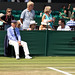 Watchful umpire | The Championships – Wimbledon 2018 | Day 5-22