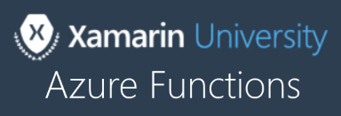 Xamarin University Guest Lecture, Online