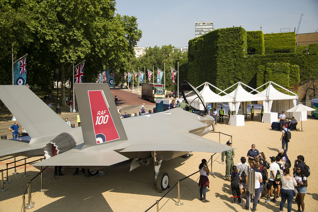 RAF 100 - F-35 on Horse Guards Parade
