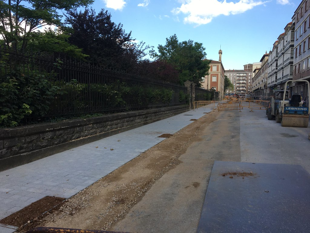 Obras en Vitoria-Gasteiz