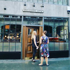Best be social to eat here #street_photography_social #peoplewatching #socialeatinghouse #soholondon #londonist #london_only #streetphotography #rsa_streetview_ #rustlord_unity #icu_britain #icu_europe #eatingout #reflection #london #streetshooter #instag