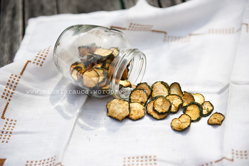 chips zucchine essiccate