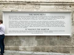 Photo of Christopher Wren and Robert Hooke stone plaque