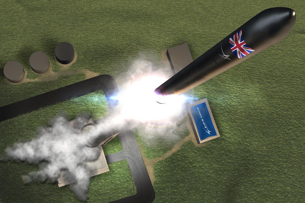 Lockheed Martin UK Spaceflight Launch graphic