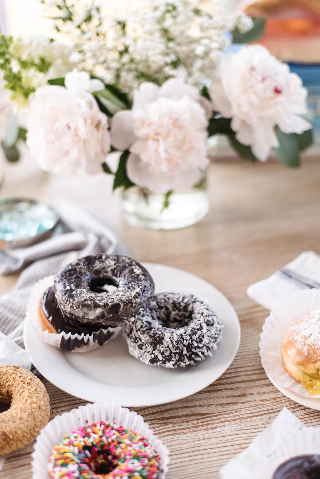 Homemade donuts on http://juliettelaura.blogspot.com/