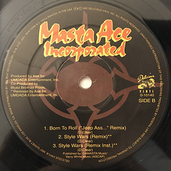 MASTA ACE INCORPORATED:SLAUGHTAHOUSE(LABEL SIDE-B)