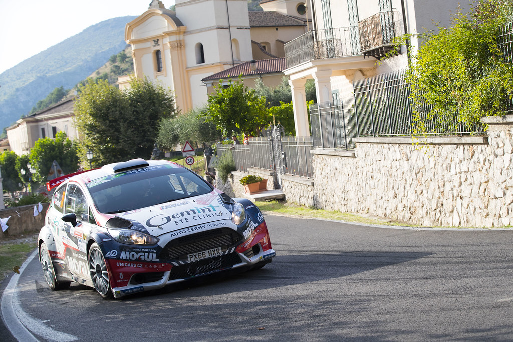 19 Jan Cerny (CZE), Petr Cernohorsky (CZE), ACCR Czech Rally Team, FORD FIESTA R5, during the 2018 European Rally Championship ERC Rally di Roma Capitale,  from july 20 to 22 , at Fiuggi, Italia - Photo Gregory Lenormand / DPPI