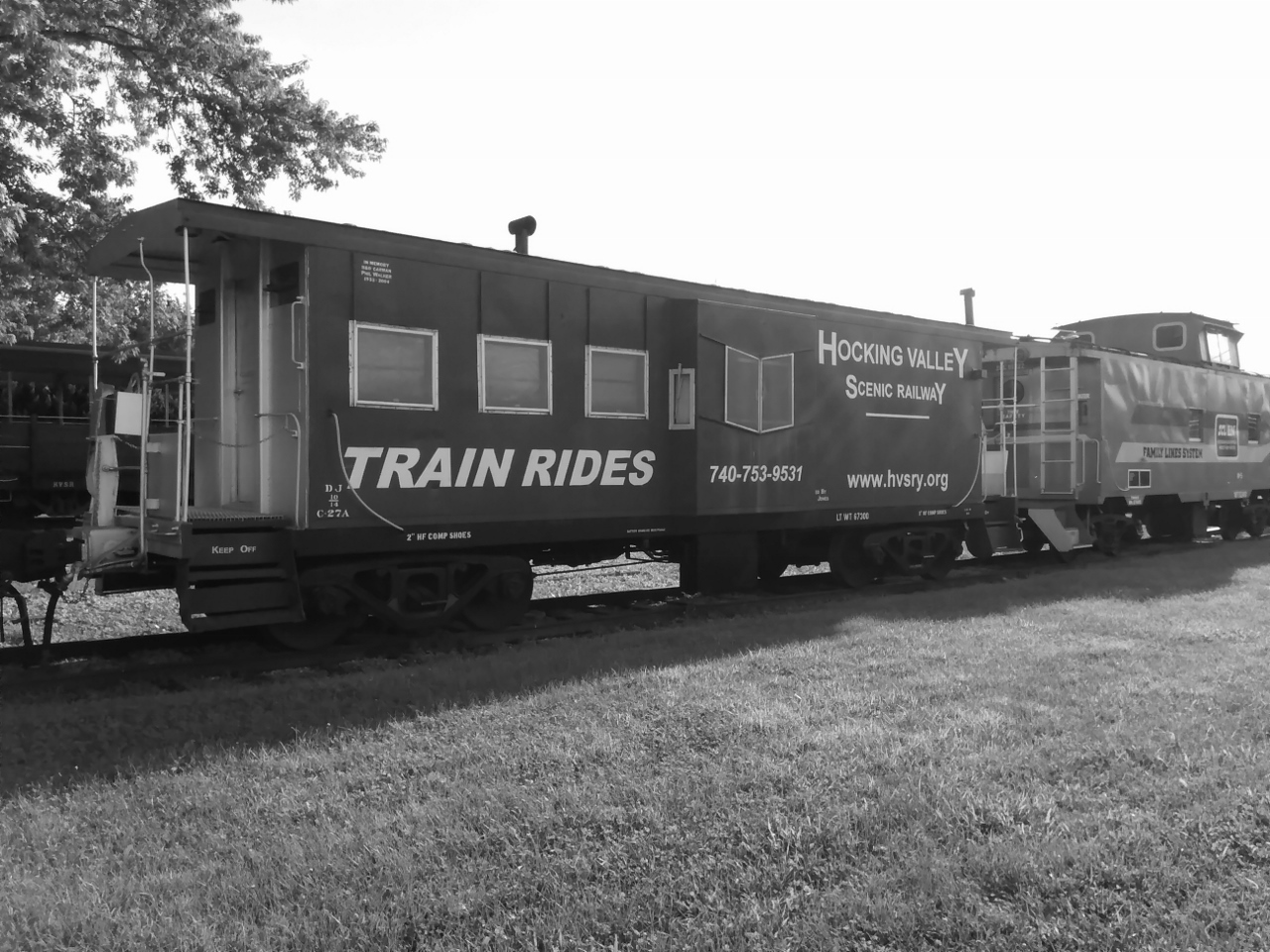 Hocking Valley Scenic Railway - BW 6-15-2018 6-40-34 AM