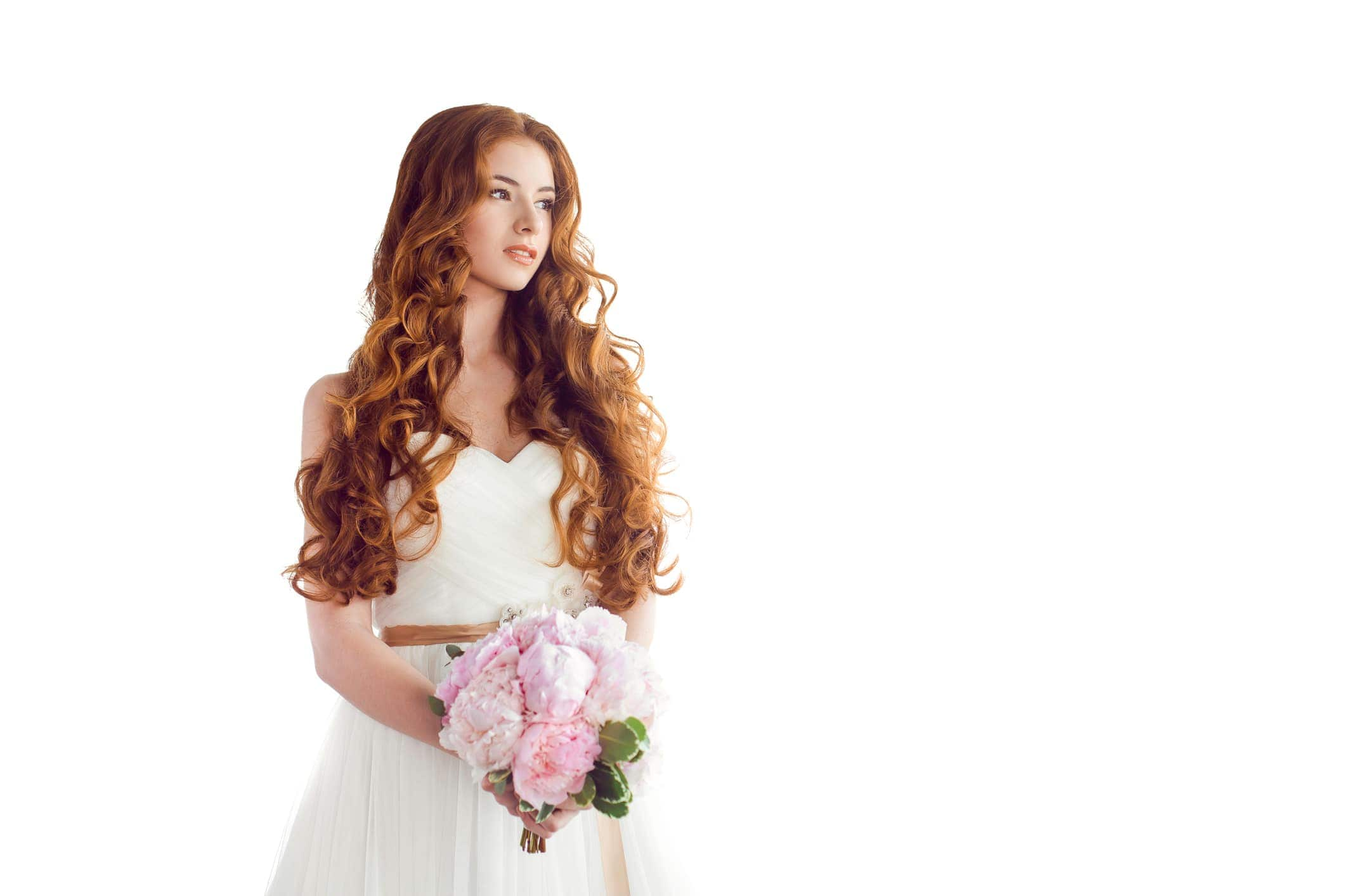 2018 Curly Wedding Day Hair For Amazing Look ! 3