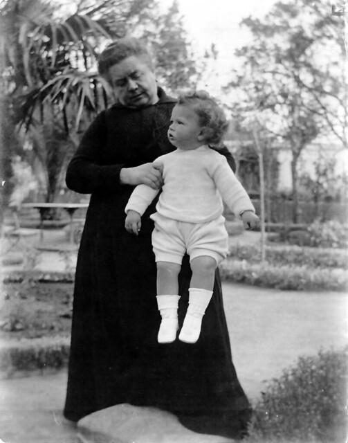 Leontine D'Autez, viuda del médico militar británico John S. Langdon