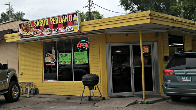 Out with the old, In with the New, Unnamed Mexican Salvadoran Restaurant in Des Moines, Iowa