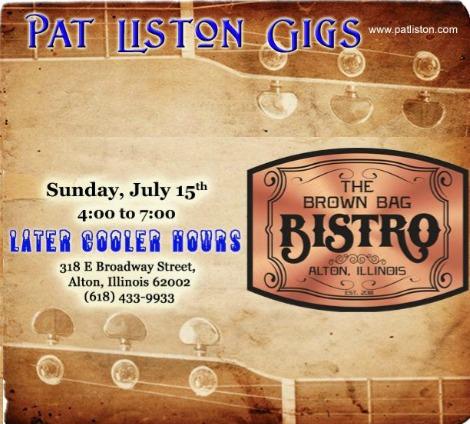 Pat Liston 7-15-18