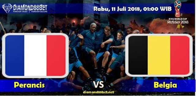 Prediksi Bola Prancis vs Belgia ,Hari Rabu, 11 Juli 2018 – Piala Dunia