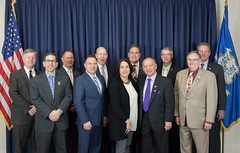 Rep. Sampson (Chairman) with fellow members of the Conservative Caucus.