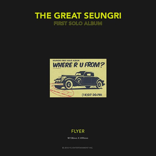 Seungri THE GREAT SEUNGRI Solo Album 2018 (8)