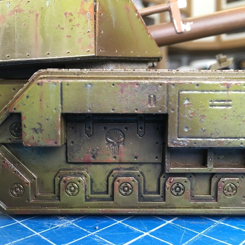 Lasercut basilisk tank green-13