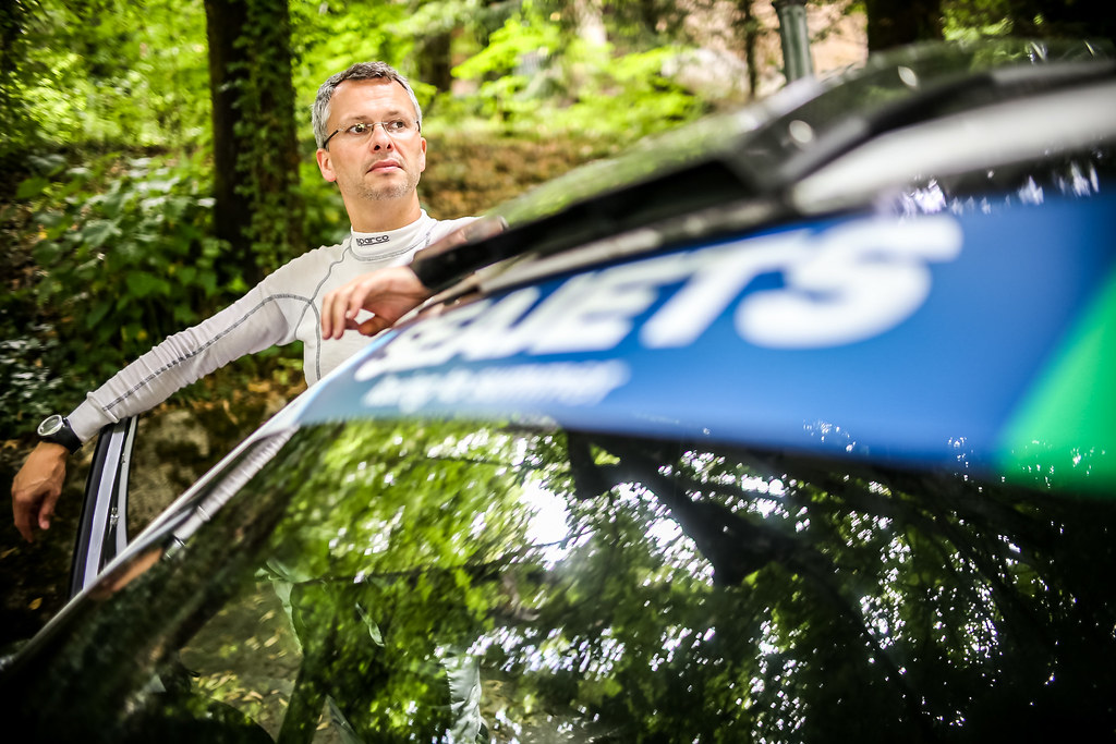 DEGANTD Bjorn (BEL), BRR Baumschlager Rallye & Racing Team, SKODA FABIA R5, portrait during the 2018 European Rally Championship ERC Rally di Roma Capitale,  from july 20 to 22 , at Fiuggi, Italia - Photo Thomas Fenetre / DPPI