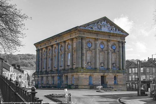 Todmorden Town Hall.